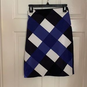 Beautiful Blocked Color Skirt